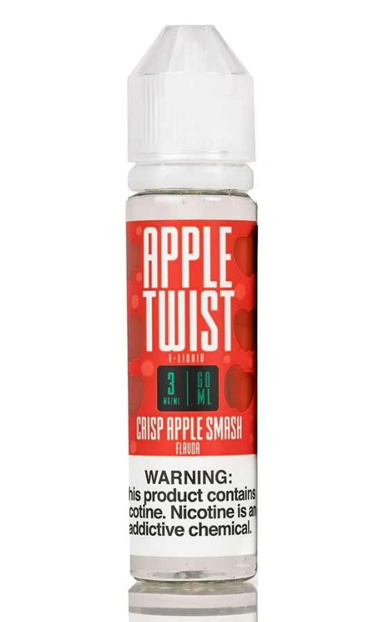 Crisp Apple Smash Lemon Twist E-Liquids Newmarket Vaughan Toronto GTA Alliston Woodbridge Ontario Canada