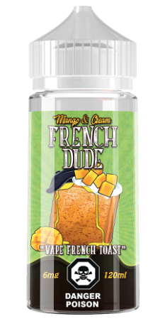 Mango & Cream French Dude - Vape Breakfast Classics - IN2VAPES