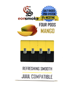 Mango Eonsmoke JUUL Compatable Pods Alliston Newmarket Vaughan GTA Toronto Woodbridge Ontario Canada