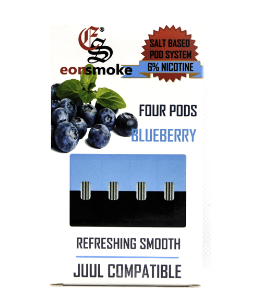 Blueberry Eonsmoke JUUL Compatable Pods Alliston Newmarket Vaughan GTA Toronto Woodbridge Ontario Canada