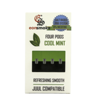 Cool Mint Eonsmoke JUUL Compatable Pods Alliston Newmarket Vaughan GTA Toronto Woodbridge Ontario Canada