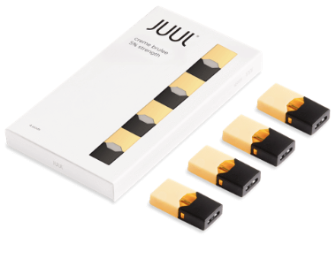 Vanilla JUUL Prefilled Replacement Pods 3% Alliston Newmarket Vaughan GTA Toronto Woodbridge Ontario Canada