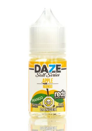 Red's Apple Mango Nic Salt 7 Daze Newmarket Woodbridge GTA Toronto Vaughan Ontario Canada
