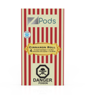 Cinnamon Roll ZiiP Specialty Flavoured JUUL Pods Alliston Newmarket Vaughan GTA Toronto Woodbridge Ontario Canada