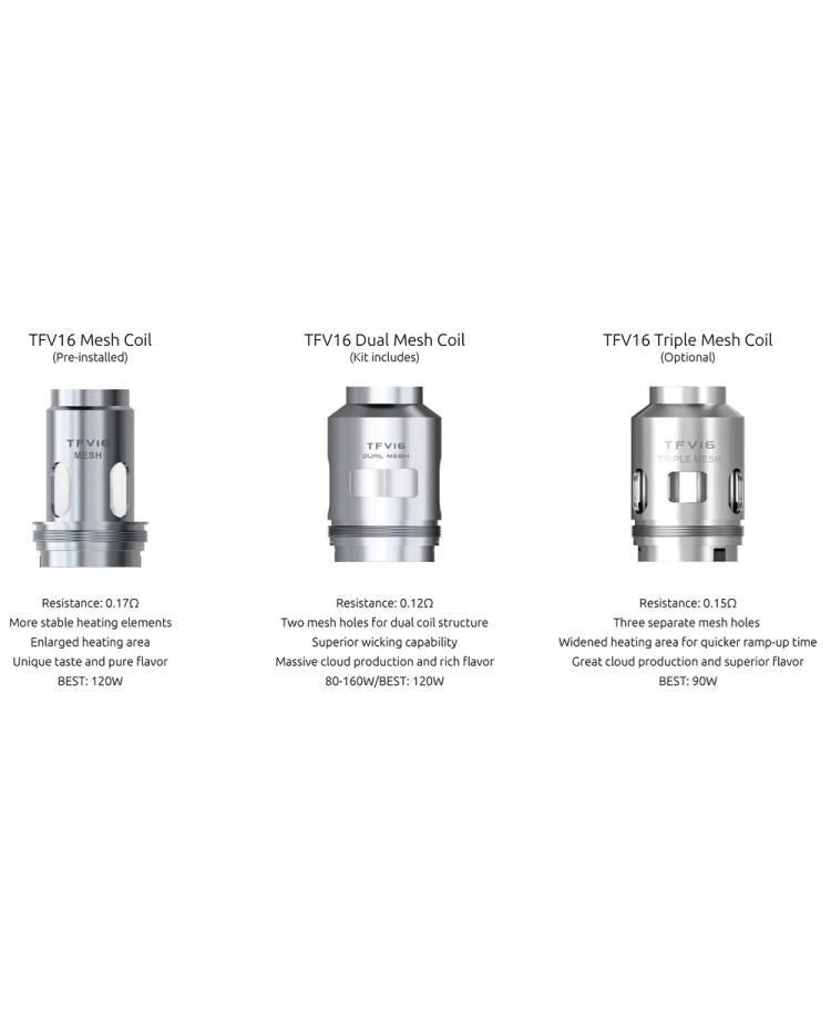 SMOK TFV16 Replacement Coils Alliston Newmarket Woodbridge Vaughan GTA Toronto Ontario Canada