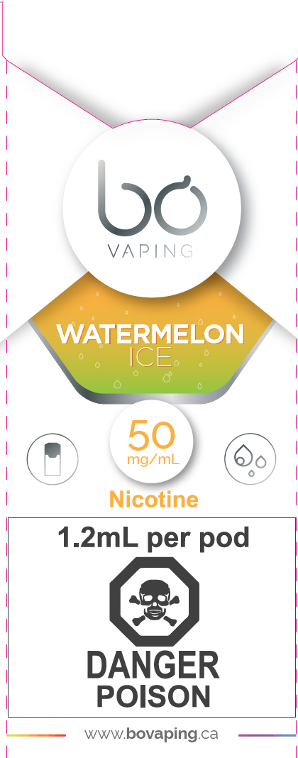 Watermelon Ice Pods Bo Vaping Newmarket Vaughan GTA Toronto Woodbridge Ontario Canada