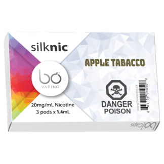 Apple Tobacco Bo Vaping Pods Big Vapor Alliston Newmarket Vaughan Woodbridge Toronto GTA Ontario Canada In2Vapes