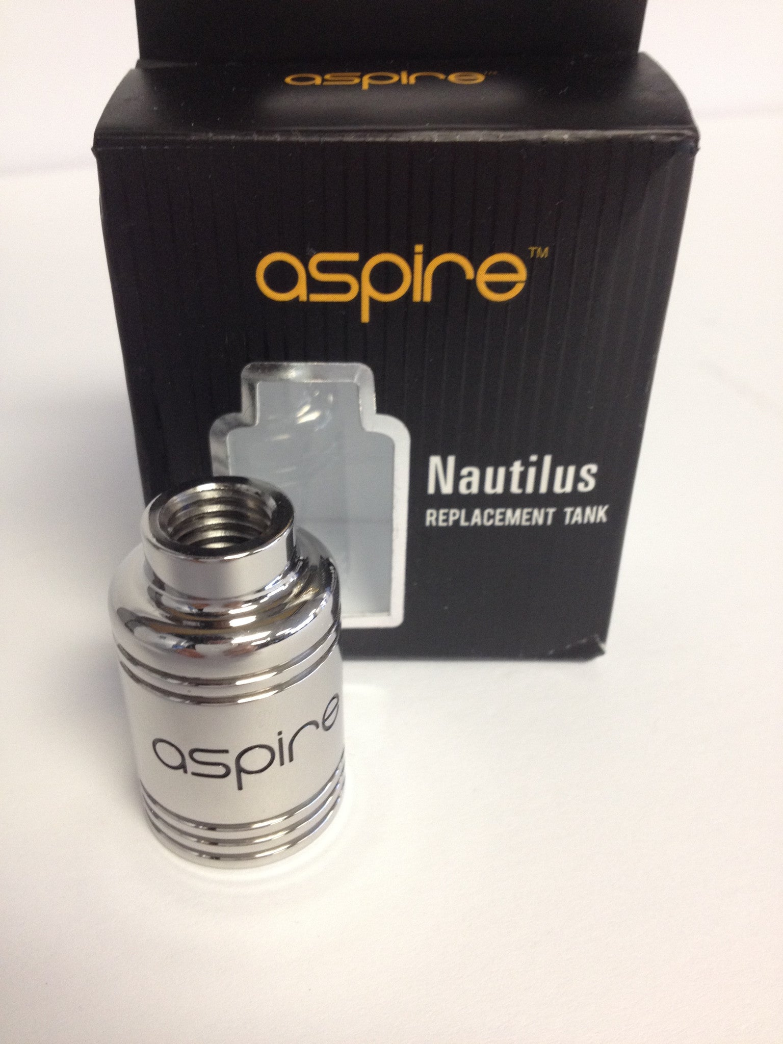 Aspire Nautilus Full SS Replacment Tank - IN2VAPES
