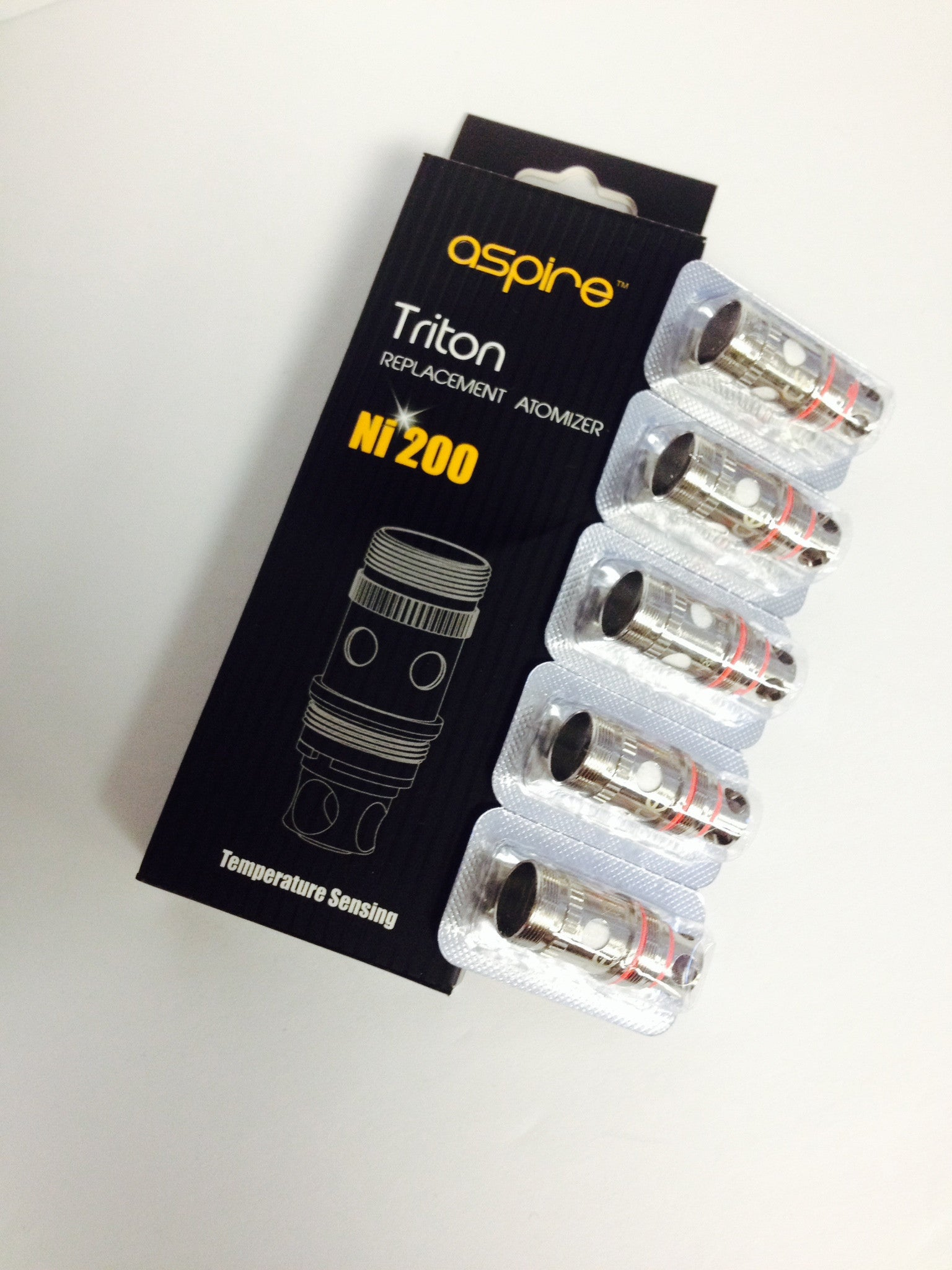 Aspire Triton Ni200 (Nickel) (5pack) - IN2VAPES
