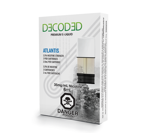 Atlantis Decoded Premium Labs STLTH Pod Pack STLTH Alliston Newmarket Woodbridge Vaughan GTA Toronto Ontario Canada