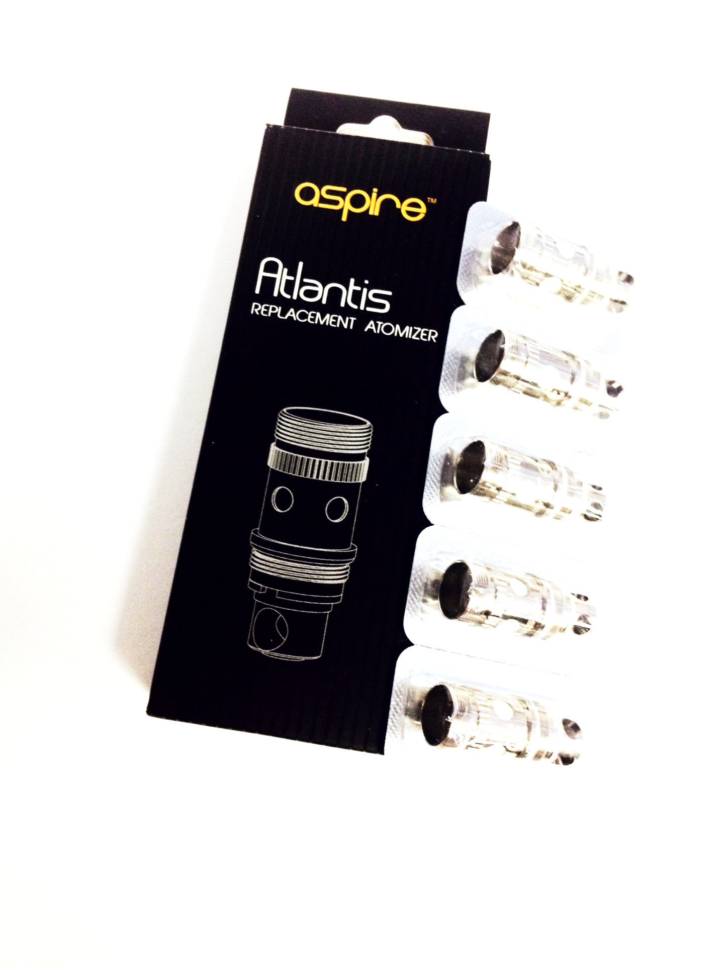 Aspire Atlantis BVC Coils (5pack) Alliston Vaughan Newmarket Woodbridge Toronto Ontario Canada