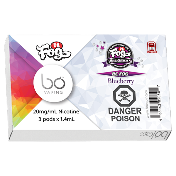 BC Fog Bo Pods Dr. Fog's Alliston Newmarket Vaughan GTA Toronto Woodbridge Ontario Canada