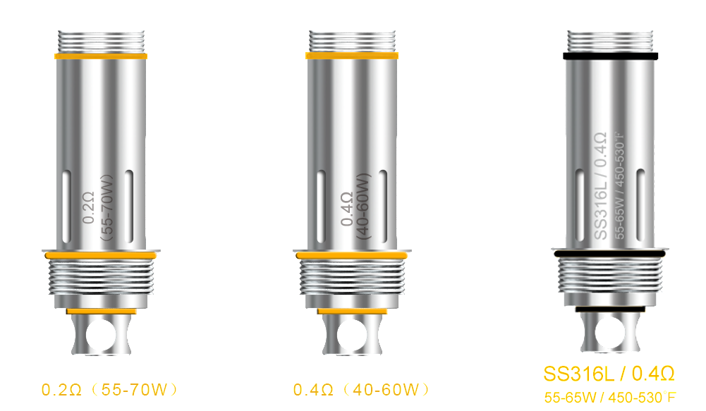 Aspire Cleito Replacement Coils - IN2VAPES