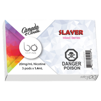Dragon Slayer (Salt Nic) Bo Pods Alliston Newmarket Vaughan GTA Toronto Woodbridge Ontario Canada