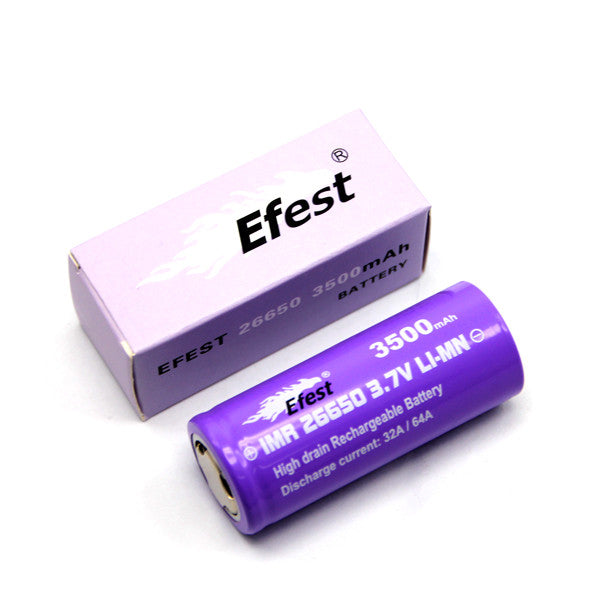 Efest 26650 3500maH 64A Battery - IN2VAPES