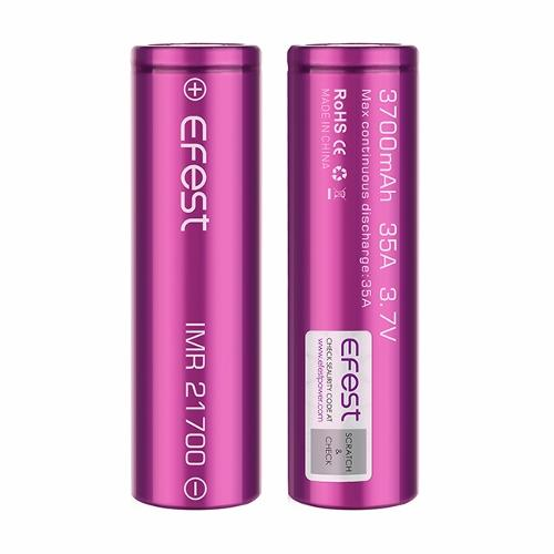 Efest 21700 3700mAh Battery - IN2VAPES