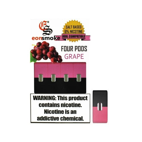 Grape Eonsmoke JUUL Compatable Pods Alliston Newmarket Vaughan GTA Toronto Woodbridge Ontario Canada