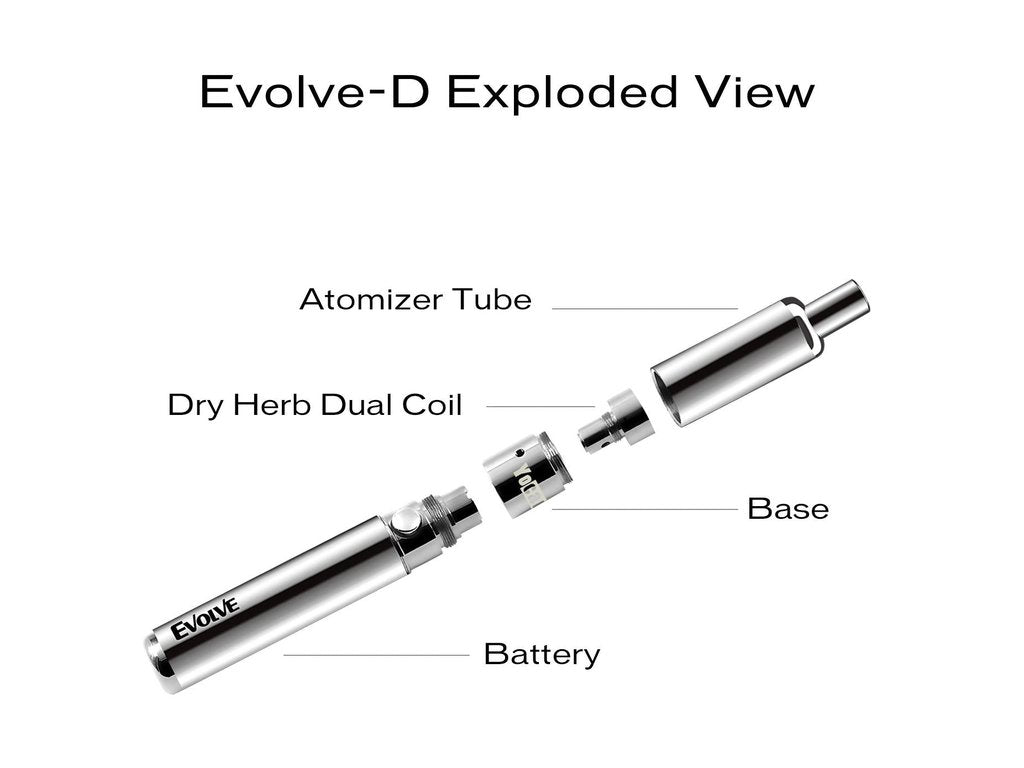 Evolve-D Dry Herb Vaporizer - Yocan - IN2VAPES