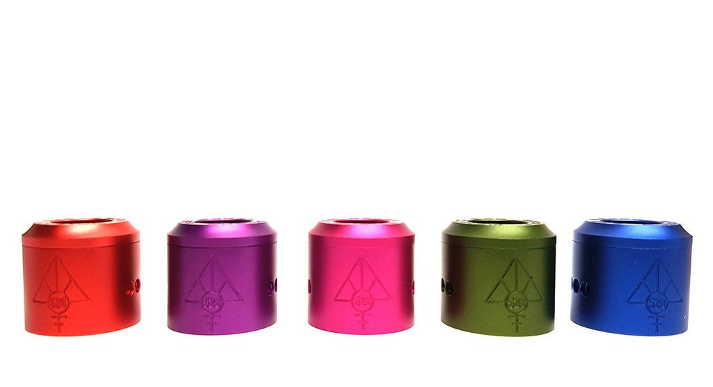 Anodized Colored Caps for the Goon RDA - IN2VAPES