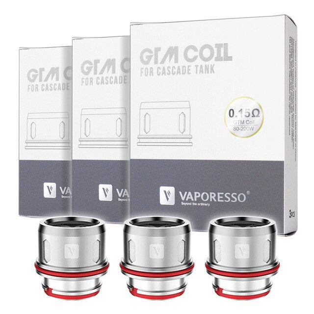 Vaporesso GTM Coils for Cascade Tank Alliston Newmarket GTA Vaughan Woodbridge Toronto Ontario Canada