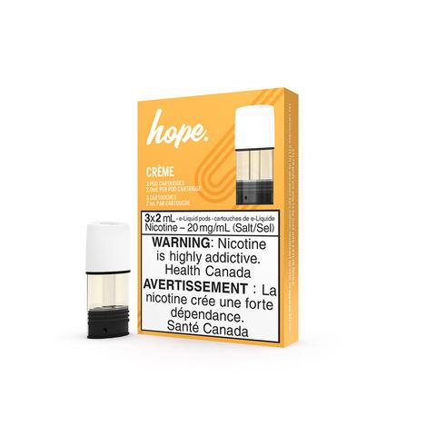 Hope Creme STLTH Pod Pack Alliston Newmarket Woodbridge Vaughan GTA Toronto Ontario Canada