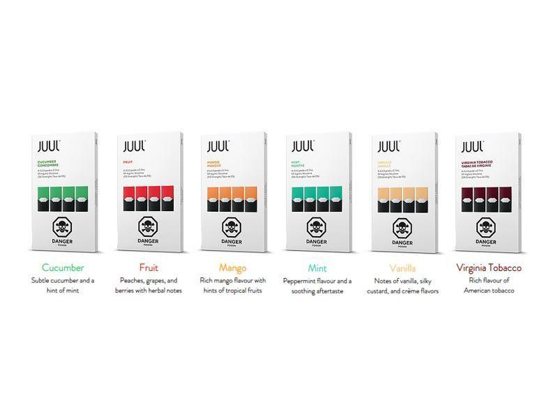 JUUL Prefilled Replacement Pods 1.5% Newmarket Vaughan GTA Toronto Woodbridge Ontario Canada