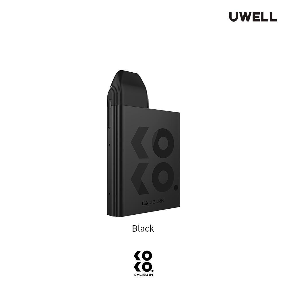 Black UWELL KOKO Caliburn Pod System Alliston Newmarket Woodbridge Vaughan GTA Toronto Ontario Canada