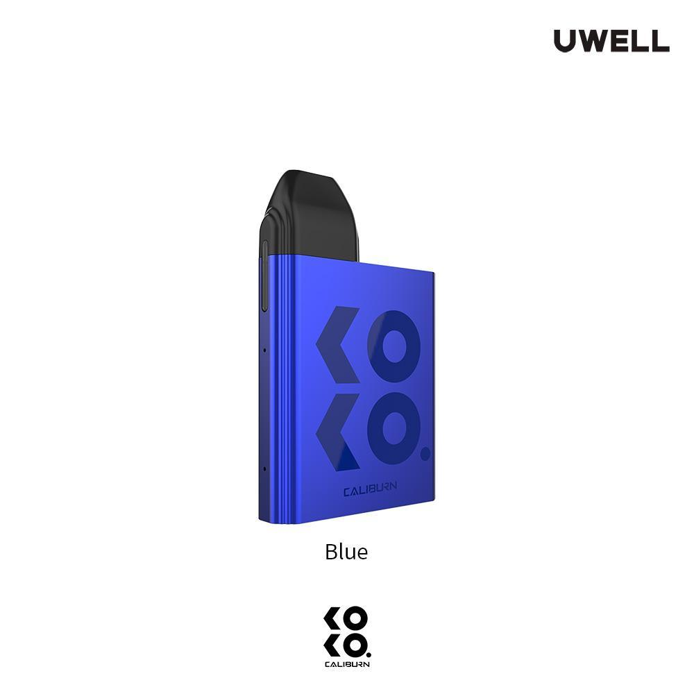 Blue UWELL KOKO Caliburn Pod System Alliston Newmarket Woodbridge Vaughan GTA Toronto Ontario Canada