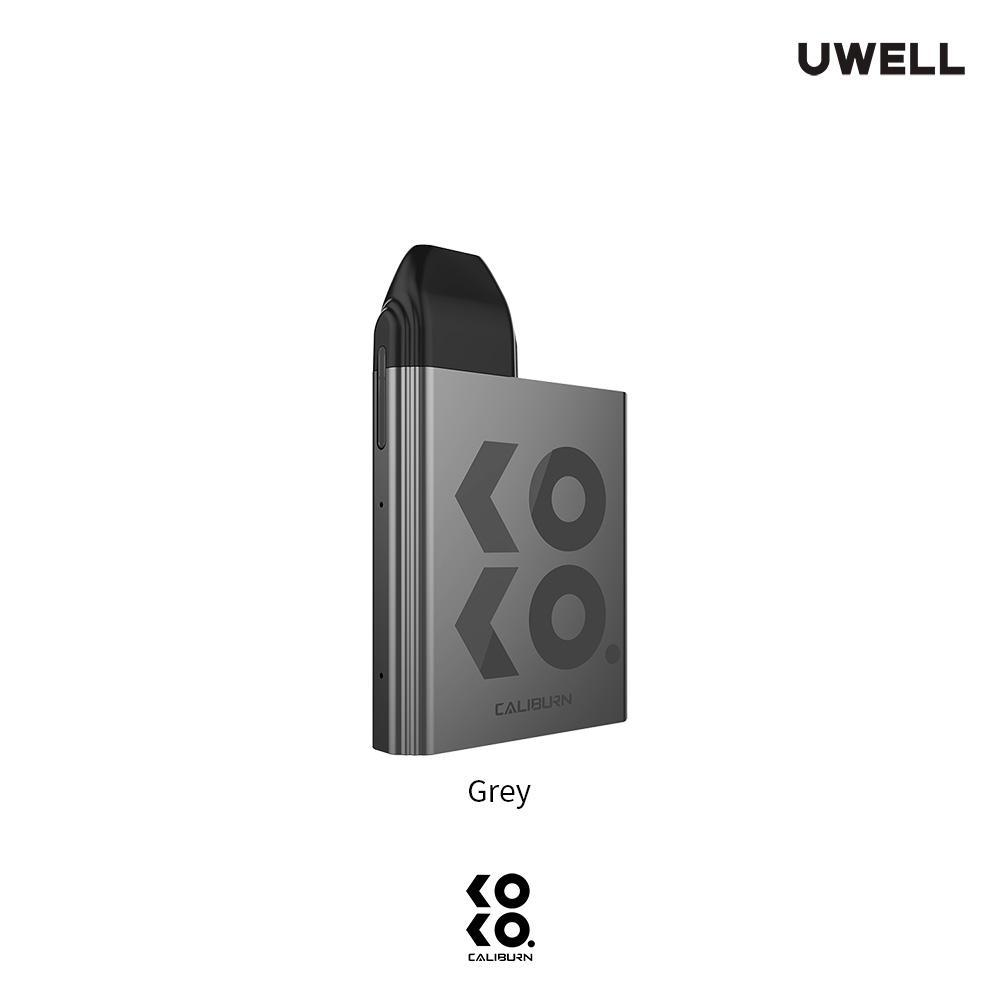 Grey UWELL KOKO Caliburn Pod System Alliston Newmarket Woodbridge Vaughan GTA Toronto Ontario Canada