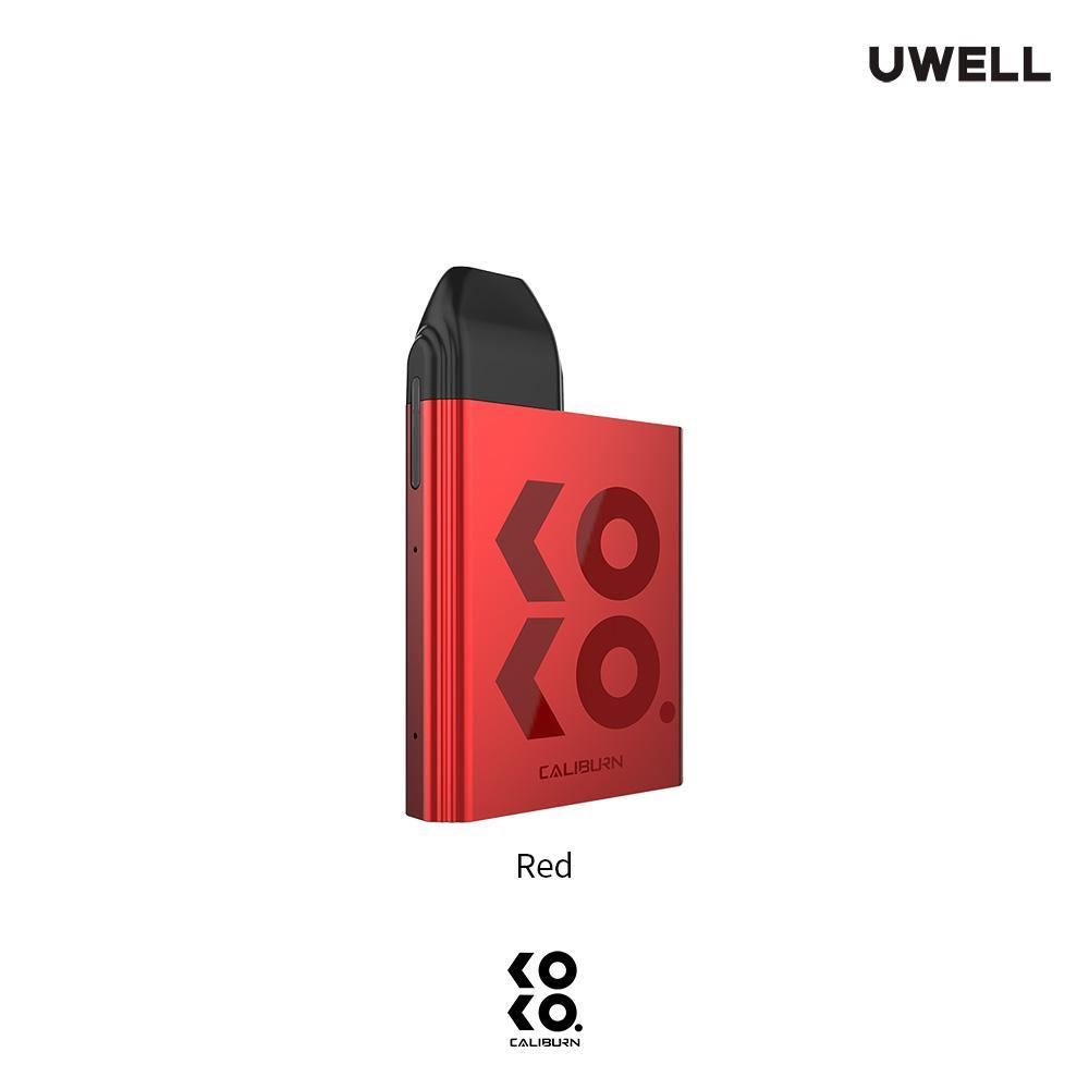 Red UWELL KOKO Caliburn Pod System Alliston Newmarket Woodbridge Vaughan GTA Toronto Ontario Canada