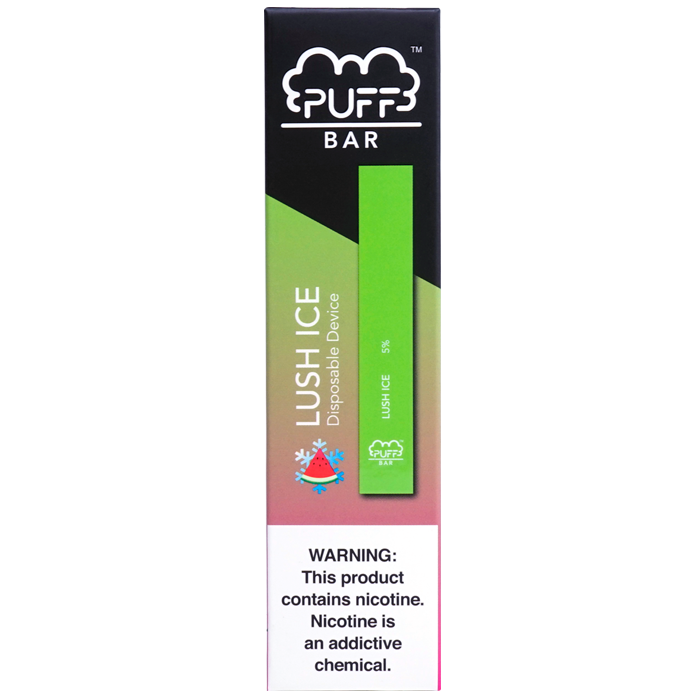 Lush Ice Puff Bar Disposable Vape Alliston Newmarket Woodbridge Vaughan Toronto GTA Ontario Canada