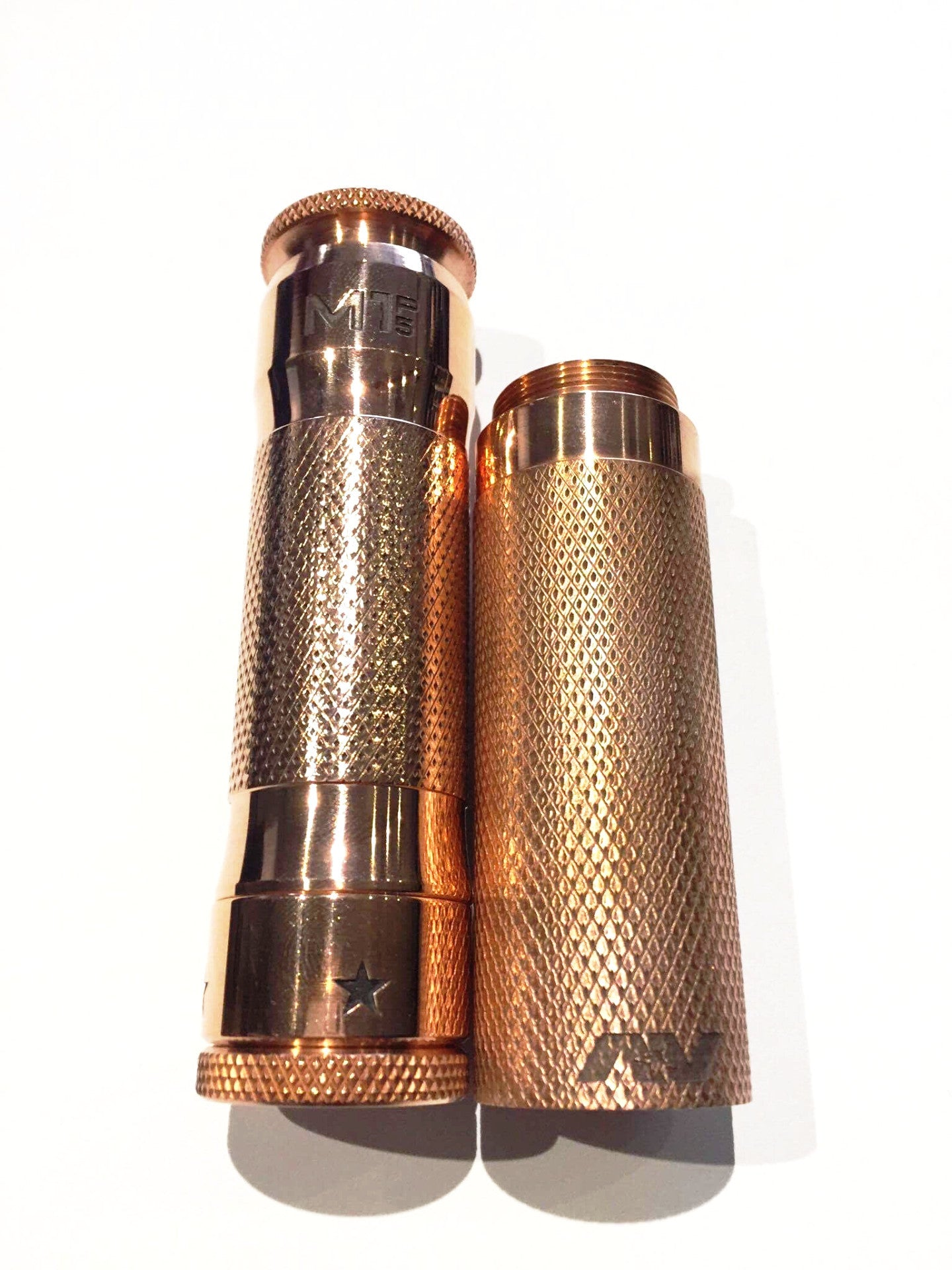 Copper M1P5 Mech Mod w. Stack Adapter - Avid Lyfe - IN2VAPES