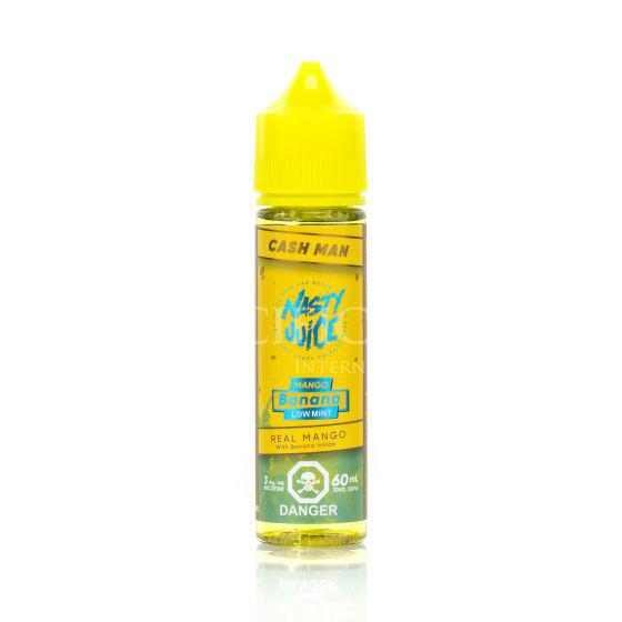 Mango Banana (Low Mint) Cush Man Nasty Juice Newmarket Woodbridge Vaughan Toronto GTA Ontario Canada