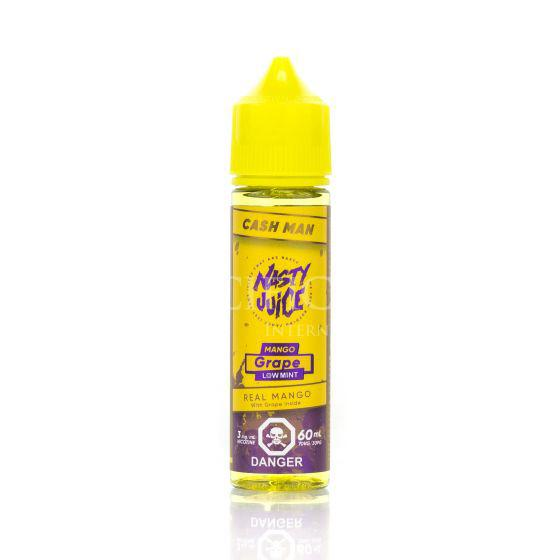 Mango Grape (Low Mint) Cush Man Nasty Juice Newmarket Woodbridge Vaughan Toronto GTA Ontario Canada