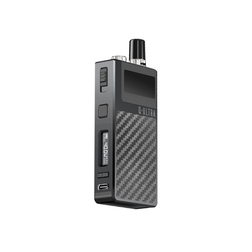 Black Carbon Lost Vape Orion Q-Ultra Newmarket Woodbridge Alliston Vaughan GTA Toronto Ontario Canada
