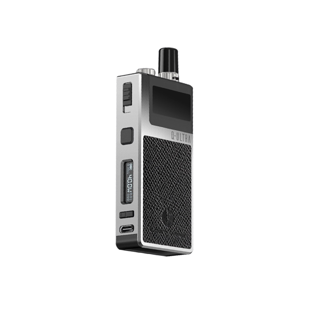 Leather Black Lost Vape Orion Q-Ultra Newmarket Woodbridge Alliston Vaughan GTA Toronto Ontario Canada