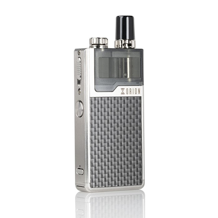 Silver Carbon Orion DNA Plus Pod System Lost Vape Newmarket Woodbridge Alliston Vaughan GTA Toronto Ontario Canada