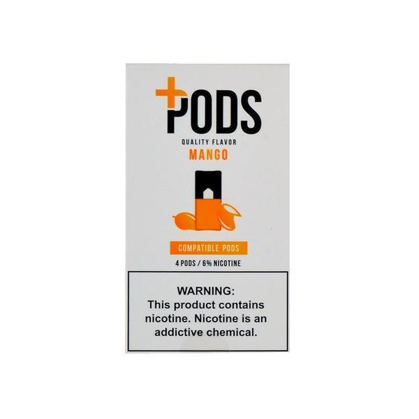 Mango Plus Pods JUUL Compatable Pods Alliston Newmarket Vaughan GTA Toronto Woodbridge Ontario Canada