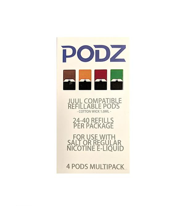 PODZ - Refillable Pods For JUUL & OVNS