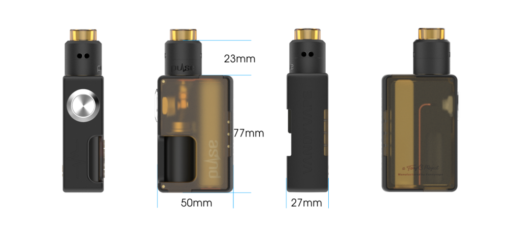 Pulse BF Squonk Kit With Pulse BF Special Edition - Vandy Vape - IN2VAPES