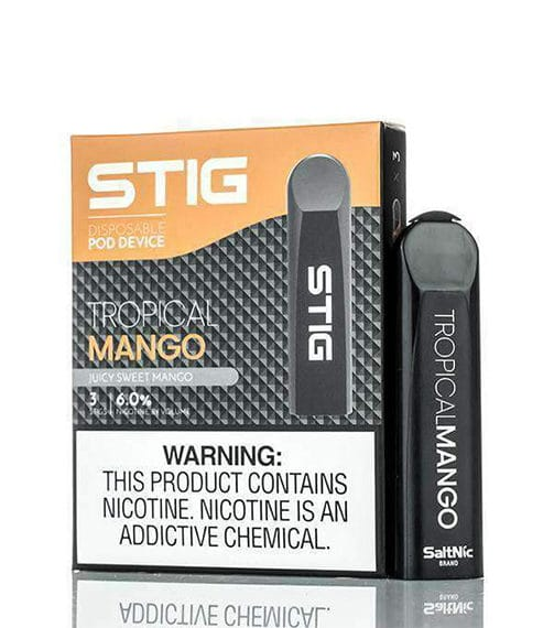 Tropical Mango STIG Disposable Device VGOD Alliston Newmarket Woodbridge Vaughan Toronto GTA Ontario Canada