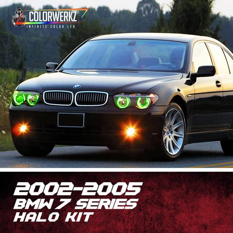 2002-2005 BMW 7 SERIES HALO KIT - Outrageous Lighting