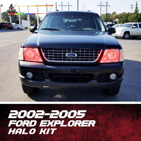 2002-2005 Ford Explorer Halo Kit - Outrageous Lighting