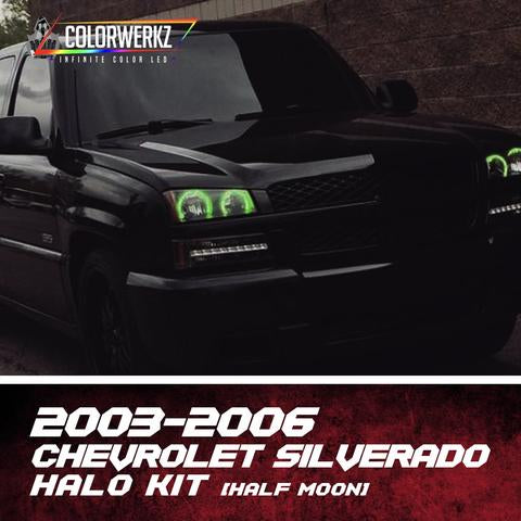 2003-2006 CHEVROLET SILVERADO (HALF MOON) HALO KIT - Outrageous Lighting