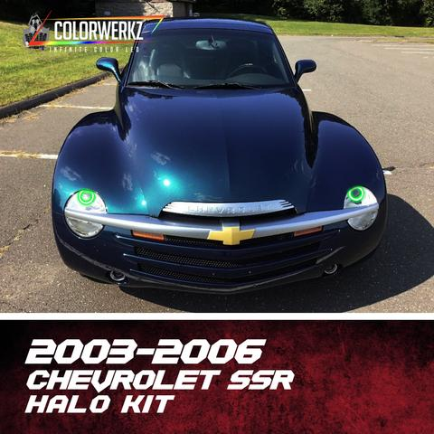 2003-2006 CHEVROLET SSR HALO KIT - Outrageous Lighting