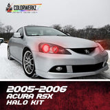 2005-2006 ACURA RSX HALO KIT - Outrageous Lighting