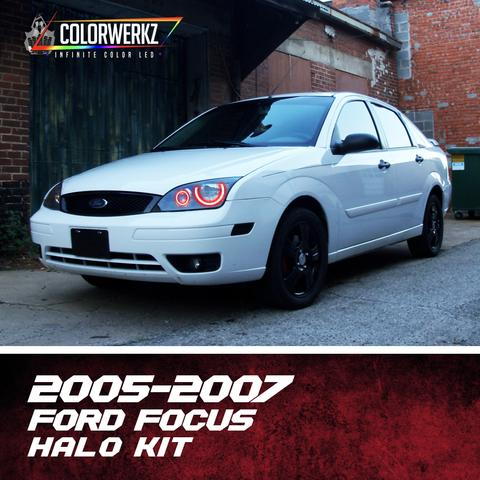 2005-2007 FORD FOCUS HALO KIT - Outrageous Lighting