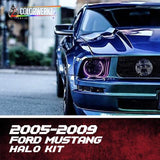2005-2009 FORD MUSTANG HALO KIT - Outrageous Lighting