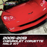 2005-2013 CORVETTE HEADLIGHT HALOS - Outrageous Lighting