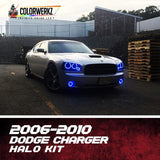 2006-2010 DODGE CHARGER HALO KIT - Outrageous Lighting